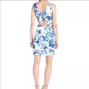 NWT Betsey Johnson Size 14 Floral Sheath Dress
